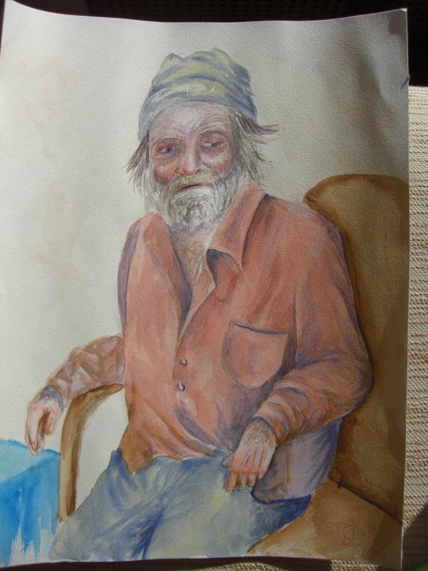 Un viejo pescador