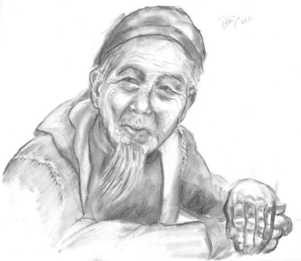 Médico tradicional chino un segundo antes de recetarte bilis de oso