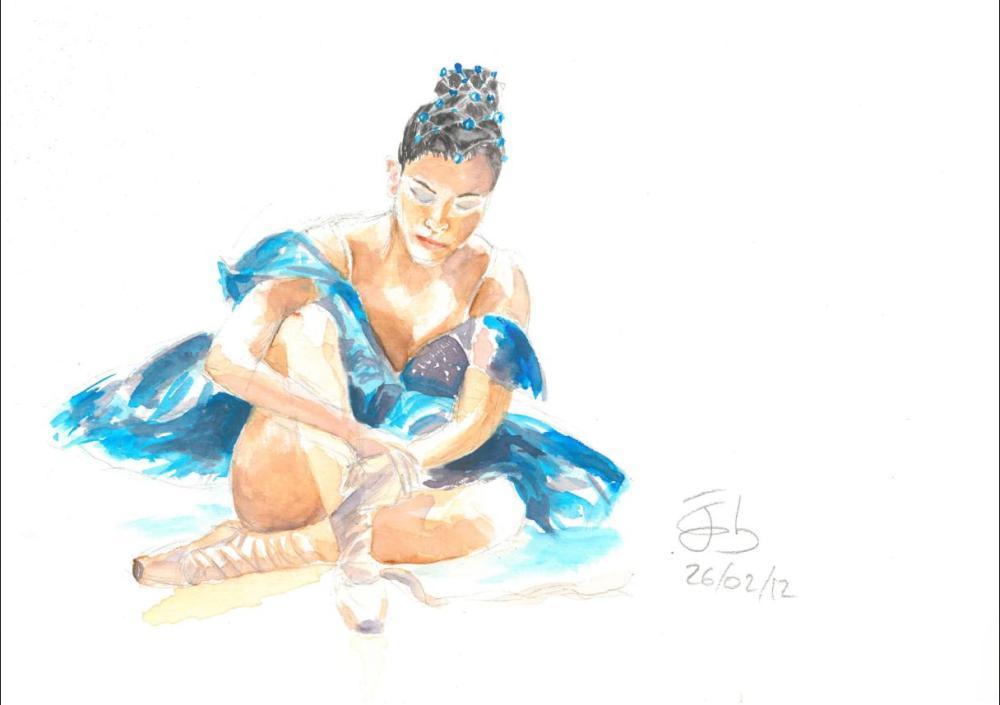 La bailarina de ballet que quería ser auxiliar administrativa