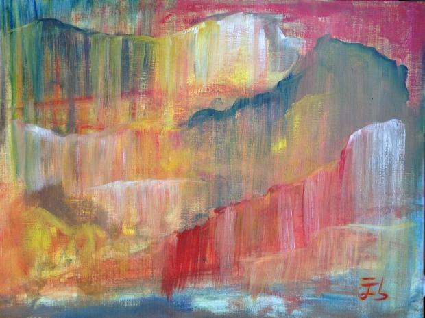 Cascadas mentales nº 1 / Waterfalls of the mind nº 1