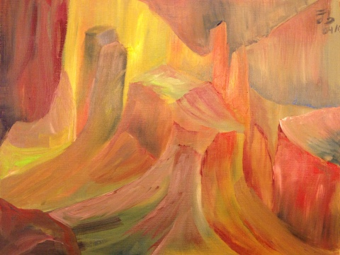 Cascadas mentales nº 3 / Waterfalls of the mind nº 3