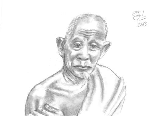 El monje budista / The Buddhist monk