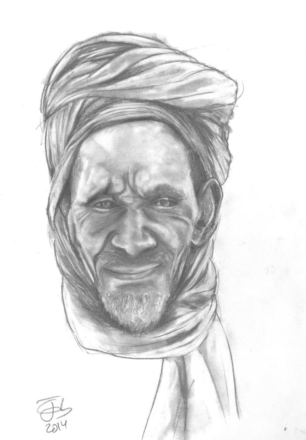 El beduino sonriente / The smiling Bedouin