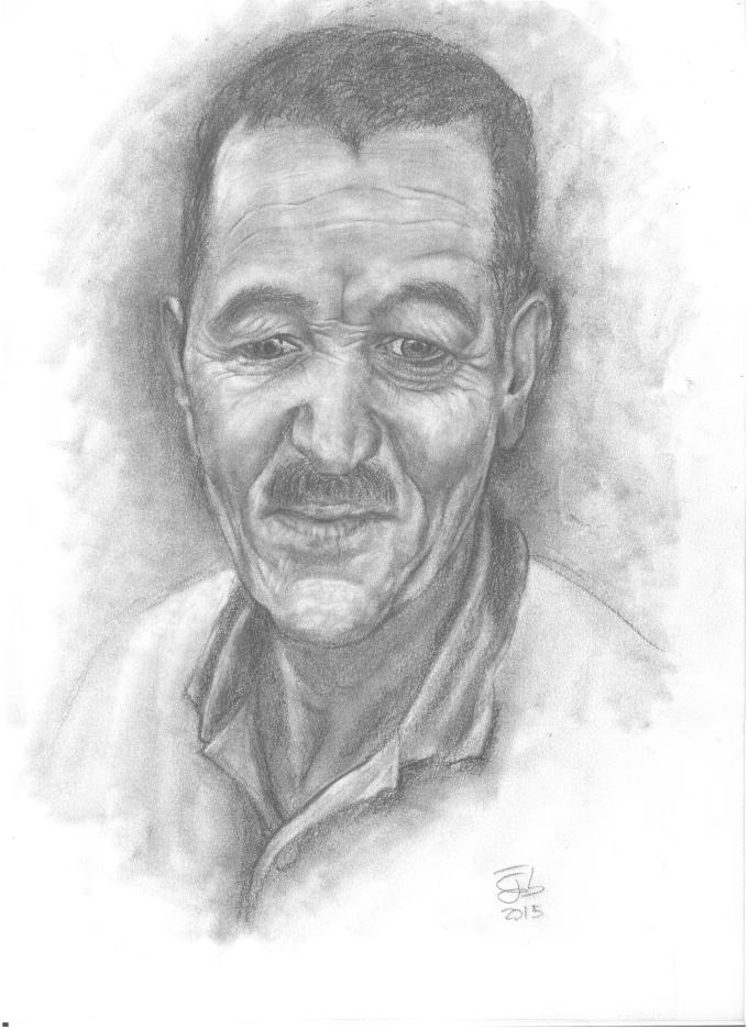 Retrato de señor / Portrait of a man