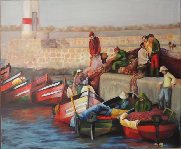 Puerto pesquero en Marruecos / Moroccan fishing harbour
